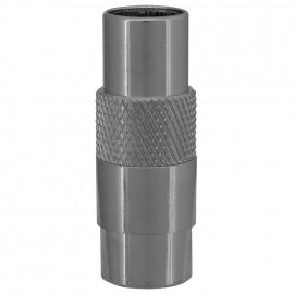 Premium Laboradapter, IEC Stecker / F -Quickfixstecker Axing