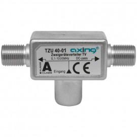 BK / SAT Verteiler TZU 40-01, 3 fach, F-Stecker / DIN Stecker /  F Buchse