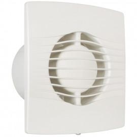 Wand und Deckeneinbaulüfter, SL Serie IPX4 weiß mit Nachlaufschalter geräuscharm 41 dB(A)