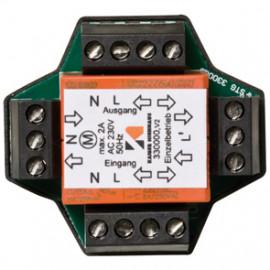 Rohrmotoren Mehrfachsteuergerät / Trennrelais, 230V, Unterputz, für 2 Motoren