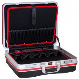 Werkzeugkoffer, Hartschale, leer, 490 mm x 385 mm x 185 mm