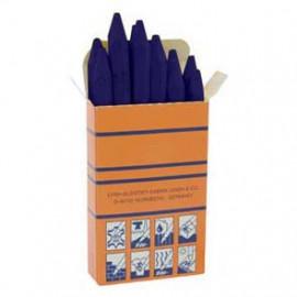 12 er Packung Signierkreide, blau, Länge 110 mm, Ø 11 mm
