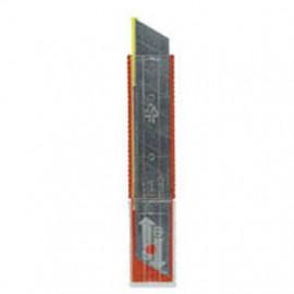 Ersatzklingen zu TAJIMA-Cutter, Breite 18 mm, Spender mit 10 Klingen