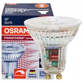 LED Lampe, GU10 / 4,6W, 350 lm, 2700K, Osram