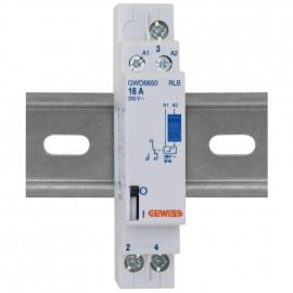 Stromstoßschalter, 230V 16A AC 1 Wechsler - Gewiss