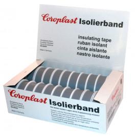 Coroplast Box PVC Isolierband Breite 15 mm, Länge 10 m Farbe grau Inhalt 20 Stück