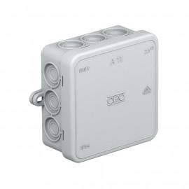 Kabeldose, AP,12 Einführungen für Kabel-Ø 14, OBO Typ A11 VDE IP55 Thermoplast