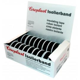 Coroplast Box PVC Isolierband Breite 15 mm, Länge 10 m Farbe schwarz Inhalt 20 Stück
