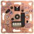 Dimmereinsatz Druck -/ Wechsel Phasenabschnitt Lasttyp R, C 20-525VA
