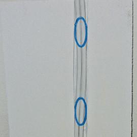 100 Stück Mauernutclip, Klemmbereich 30 - 60 mm
