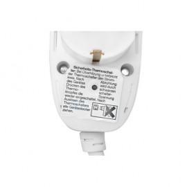 Schutzkontakt Verlängerung, H05 VV-F 3G x 1,5²mm, mit Power Split Stecker, 3 m, weiß