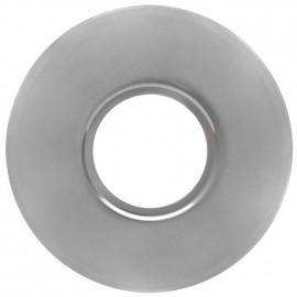 Einbauleuchten Montageplatte zur Abdeckung für Löcher Ø 70-180 mm Metall Eisen gebürstet
