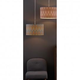 Pendelleuchte, Wohnraumleuchten MILANO, 1 x E27 / 60W weißes Pendel
