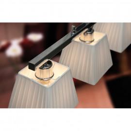 Pendelleuchte, Wohnraumleuchten 3 x E14 / 60W Metall Chrom Breite 600 mm