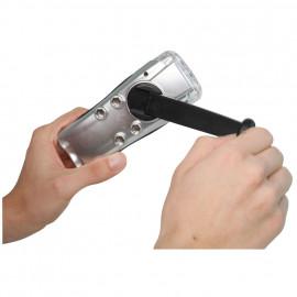LED Taschenlampe, SILVER LIGHT, 3 LEDs Länge 98mm - Varta