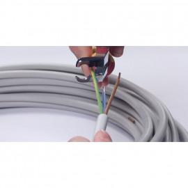 VDE-Installationszange, TRICUT, isoliert, Länge 170 mm - Wiha
