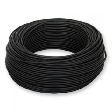100 Meter Bund Aderleitung, 1,5² H07V-K, schwarz, inkl. CU