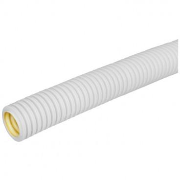 100 Meter flexibles mittleres Polyolefine- Isolierrohr, grau Ø M 28 mm