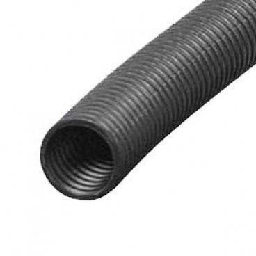 25 Meter flexibles PVC-Isolierrohr, metrisch, gewellt, schwarz Ø M 32 mm