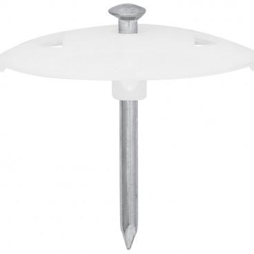 100 Stück Nagelscheibe, NAGEL-FIX, Nagel-Ø 3,5 x Nagel Länge 60 mm
