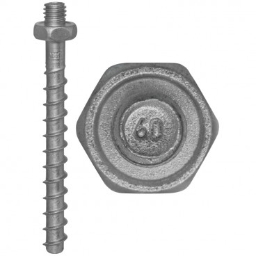 100er Packung Brandschutz-Schraubanker, MMS-ST, 6,0 x 60 mm
