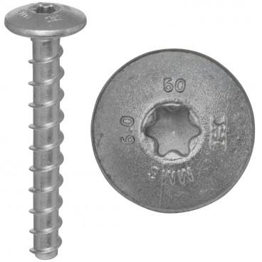 100er Packung Brandschutz-Schraubanker, MMS Ø 6,0 x 50 mm, T30