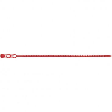 100 Stück Kabelbinder, Länge 240 mm x Breite 3,8 mm, rot