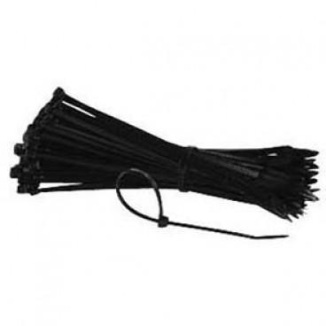 100 Stück Kabelbinder, Länge 150 mm x Breite 3,6 mm, schwarz
