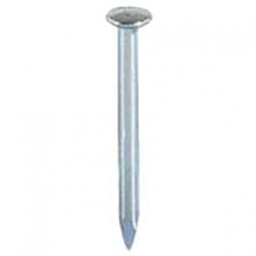 1000er Packung Stahlnagel, verzinkt, Ø 2 mm Länge 60 mm