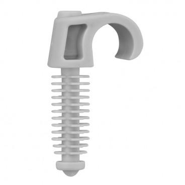 200 Stück Steck Schelle, für Kabel-Ø 7- 12 mm 1-fach