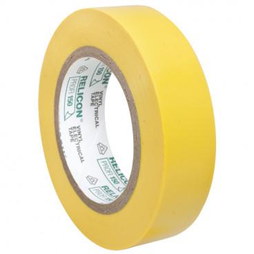 PVC Isolierband, PROFI 150, Breite 15 mm, Länge 10 m Farbe gelb