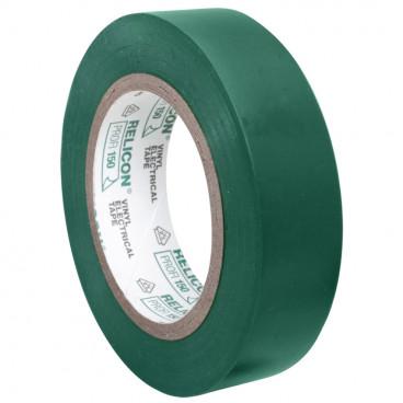 PVC Isolierband, PROFI 150, Breite 15 mm, Länge 10 m Farbe grün