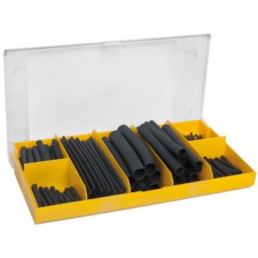 127 Stück Wärmeschrumpfschlauch- Sortiment Box