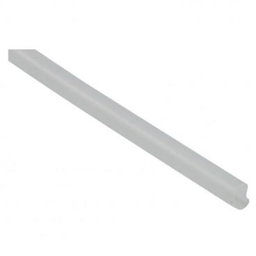 Silikon Isolierschlauch für Lampendrähte, transparent Innen Ø 3,5 mm (Meterware)