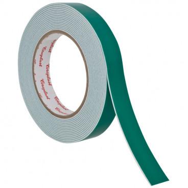 Coroplast Doppel Schaumstoffband, Breite 19 mm, Länge 66 m, weiß