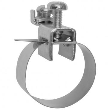 V2A Banderdungsschelle, 1 x 2,5²mm bis 2 x 16² mm, Größe 1/8 Zoll bis 3/8 Zoll