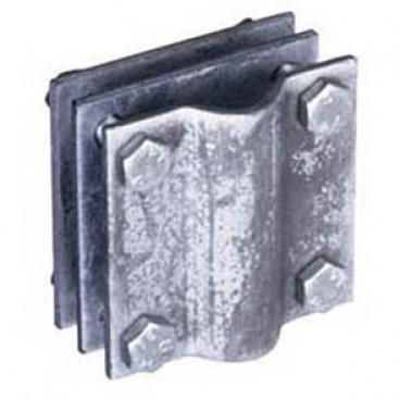 Kreuzverbinder, verzinkt für Flachband