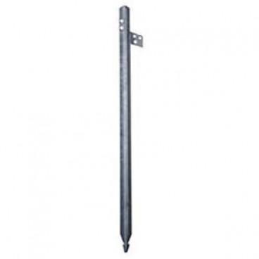 Kreuzerder mit Anschlusslasche, Länge 1,5 m Profil 50 mm x 50 mm x 3 mm
