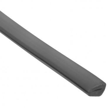 Kantenschutzband für Kabelrinne System P31, Kunststoff grau, Länge 3 m