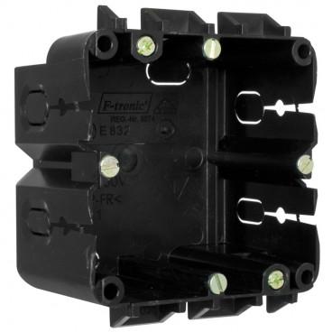 Geräteeinbaudose für Kanäle von Licatec® Typ 1-fach