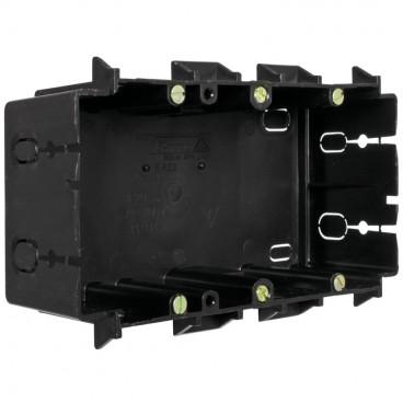 Geräteeinbaudose für Kanäle von Licatec® Typ 2 fach