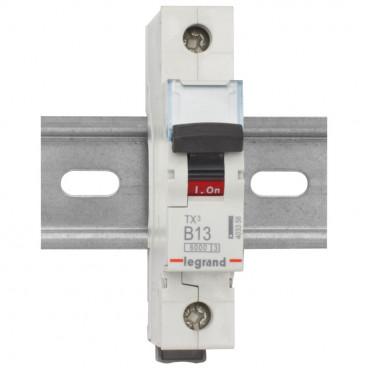 Leitungsschutzschalter, 1 polig, 20A B Charakteristik, Baureihe LEXIC TX³ Legrand