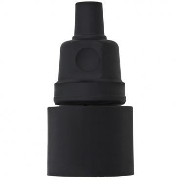 Gummi Kupplung mit Gummieinsatz, schwarz - Kaltgoff