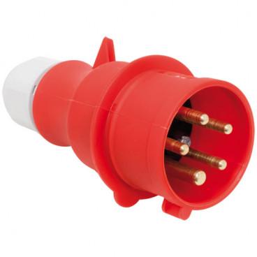 CEE Stecker, 5-polig, 400V, IP44 Ampere 63A - Bals