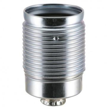 Lampen Metallfassung E27, mit Außengewinde verzinkt