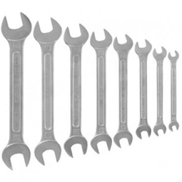 Gabelschlüsselsatz, Chrom - Vanadium-Stahl, 8-teilig, von 6 bis 22 mm
