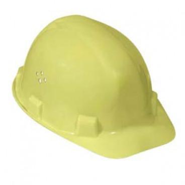 Schutzhelm Polyethylen gelb 6-Punkt