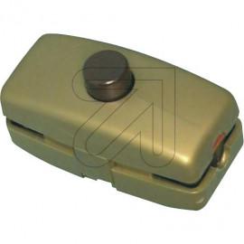 Druck Zwischenschalter gold 2A für doppelt isolierte Flachleitung