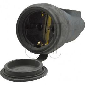 Gummi Kupplung bruchfestem Polyamid mit Steckerverriegelung IP44 Spritzschutzkappe