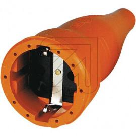 ABL Gummi Kupplung orange mit Zugentlastung bis H07RN-F 3x1,5mm²